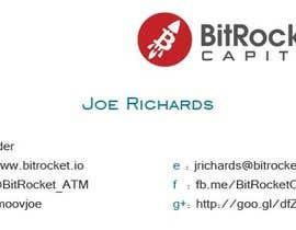 ArunTr tarafından Design some Business Cards for Bitcoin company için no 15