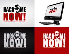 #435 para Logo Design for Hack me NOW! por Clacels