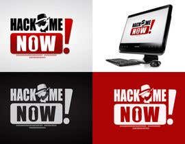 #436 para Logo Design for Hack me NOW! por Clacels