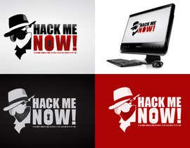 #434 para Logo Design for Hack me NOW! por Clacels