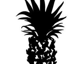 aurling tarafından Illustrate a black and white pineapple için no 14