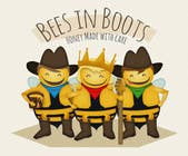 Graphic Design Contest Entry #148 for Bees in Boots Logo Design