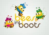 Graphic Design Contest Entry #66 for Bees in Boots Logo Design