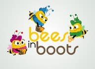 Graphic Design Contest Entry #33 for Bees in Boots Logo Design