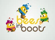 Graphic Design Contest Entry #22 for Bees in Boots Logo Design
