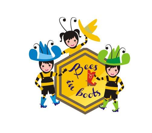 Inscrição nº                                         37                                      do Concurso para                                         Bees in Boots Logo Design