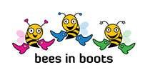 Graphic Design Inscrição do Concurso Nº34 para Bees in Boots Logo Design