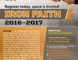 fardiaafrin tarafından Flyer Iron Faith 2016-2017 için no 22