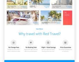 akansha9236 tarafından Design a Travel Agency Website Mockup için no 2
