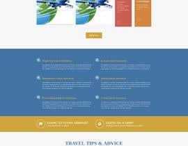 rajrai8697 tarafından Design a Travel Agency Website Mockup için no 5