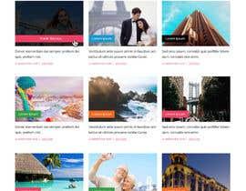 IT4BSsystem tarafından Design a Travel Agency Website Mockup için no 3