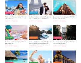 IT4BSsystem tarafından Design a Travel Agency Website Mockup için no 6