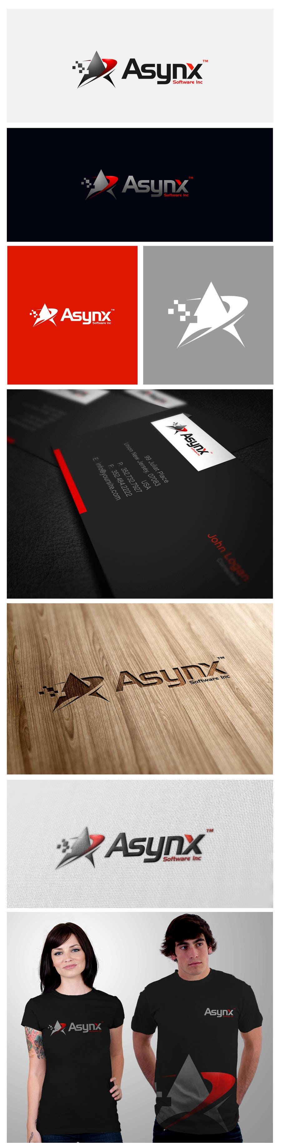 Inscrição nº                                         70                                      do Concurso para                                         Logo Design for Asynx Software Inc