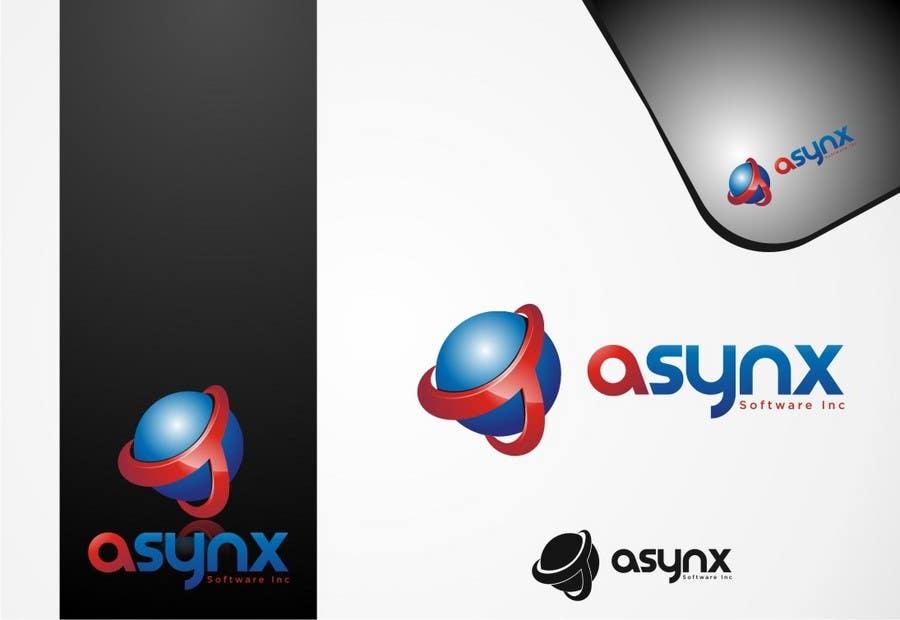 Inscrição nº                                         143                                      do Concurso para                                         Logo Design for Asynx Software Inc
