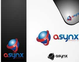 #143 para Logo Design for Asynx Software Inc por bilhillart