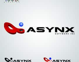 #122 untuk Logo Design for Asynx Software Inc oleh vaanigraphic