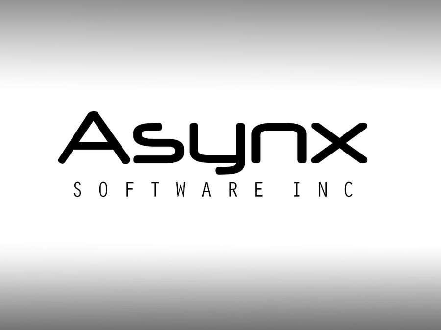 Inscrição nº                                         63                                      do Concurso para                                         Logo Design for Asynx Software Inc