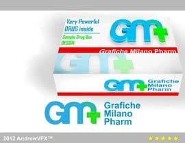 #50 for Logo Design for Grafiche Milano Pharm by AndrewVFX
