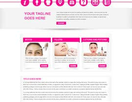 #19 for Design a Website Mockup for beauty site by gravitygraphics7