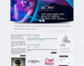 #47 for Design a Website Mockup for beauty site by online3