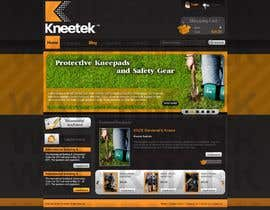 nº 13 pour Website Design for KNEETEK.NET par ProLV