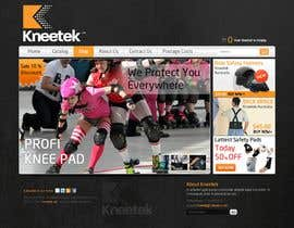 #52 para Website Design for KNEETEK.NET por wabdesigner