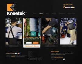 #51 pёr Website Design for KNEETEK.NET nga wabdesigner