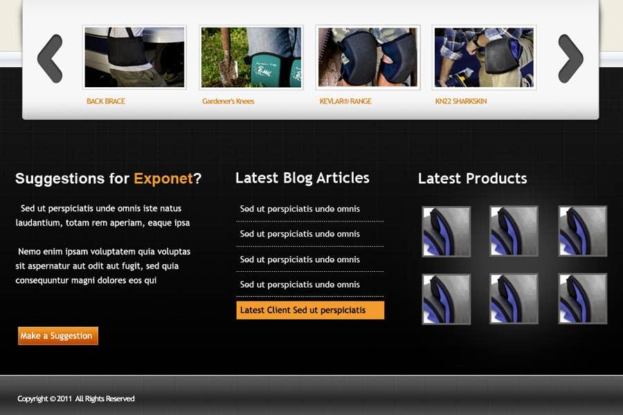 Contest Entry #                                        9                                      for                                         Website Design for KNEETEK.NET