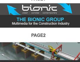 nº 47 pour Banner Ad Design for The Bionic Group par dreamsweb