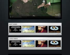 nº 5 pour Website Design for KHAAFILA.TV  and HIJRAH.TV online televisions par tania06