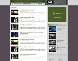 #6 untuk Website Design for KHAAFILA.TV  and HIJRAH.TV online televisions oleh tuanrobo