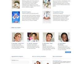 Nro 10 kilpailuun Doctor search website responsive mockup käyttäjältä Alphaseekers