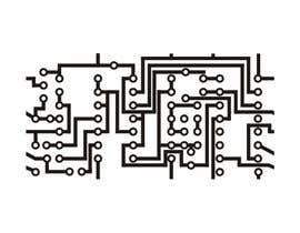 """Nro 16 kilpailuun Design an """"electronic schematic"""" styled pattern käyttäjältä vikuss33"""