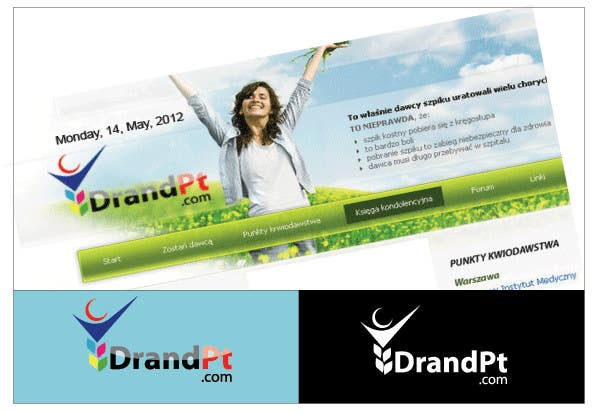 Inscrição nº                                         55                                      do Concurso para                                         Logo Design for DrandPt.com