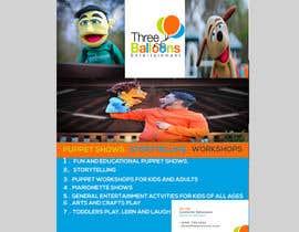 Rijjik tarafından Design a Flyer for Puppet Show and Entertainment Company için no 33