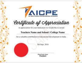 design appreciation certificate for teachers freelancer