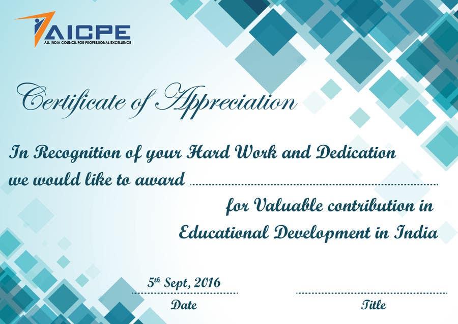 certificate of appreciation for teachers - Etame.mibawa.co