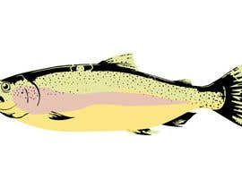 moilyp tarafından Illustrate 3 species of fish to be used for embroidery için no 5