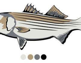 RobyGuida tarafından Illustrate 3 species of fish to be used for embroidery için no 21