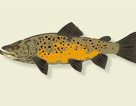 rayhananimator tarafından Illustrate 3 species of fish to be used for embroidery için no 10