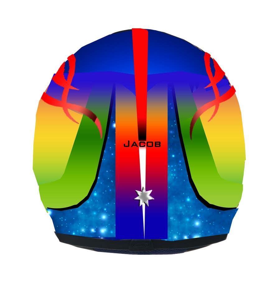 Bài tham dự cuộc thi #47 cho Racing Helmet design for 9 year old boy.