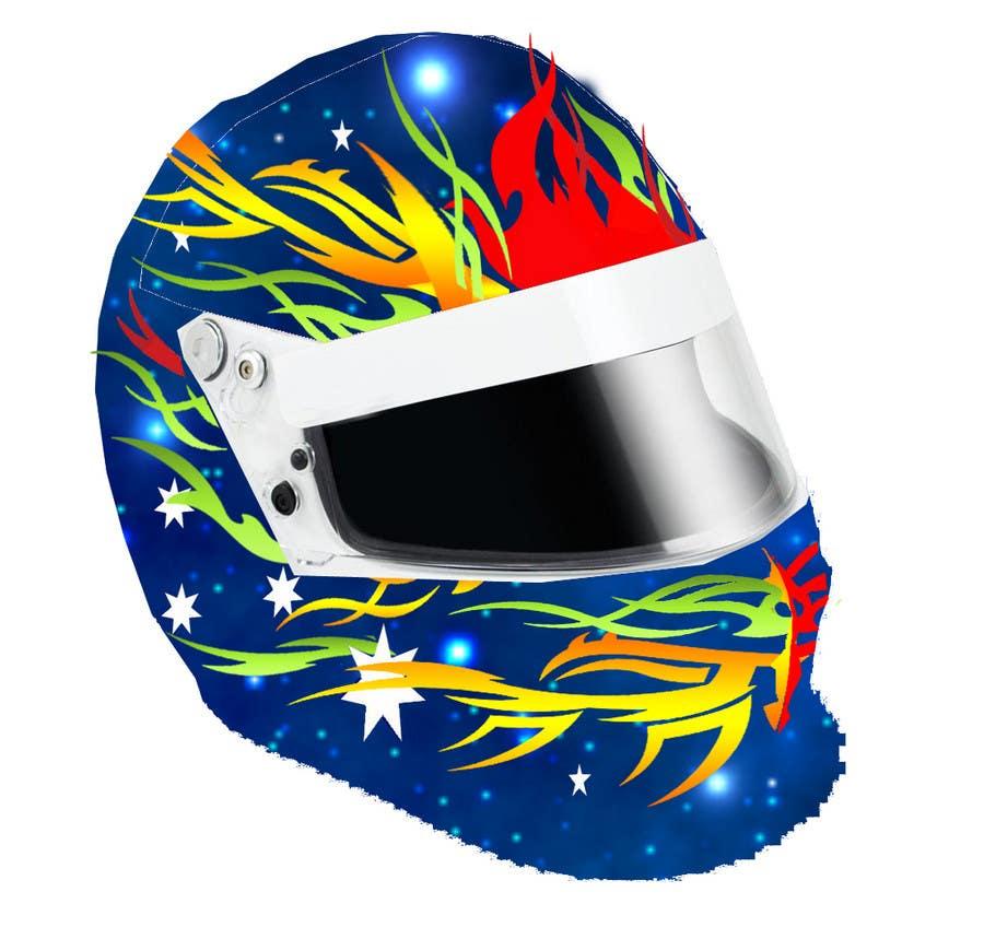 Bài tham dự cuộc thi #42 cho Racing Helmet design for 9 year old boy.