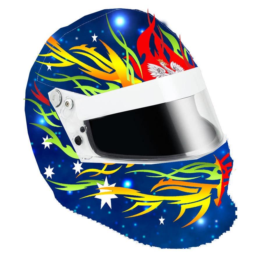 Bài tham dự cuộc thi #                                        43                                      cho                                         Racing Helmet design for 9 year old boy.