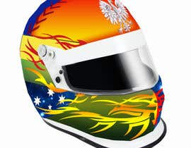 #46 untuk Racing Helmet design for 9 year old boy. oleh vishmith