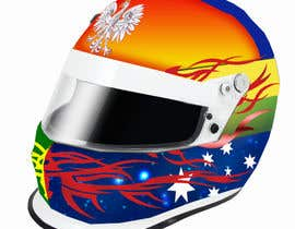 #45 для Racing Helmet design for 9 year old boy. от vishmith