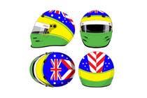 Bài tham dự #40 về Graphic Design cho cuộc thi Racing Helmet design for 9 year old boy.