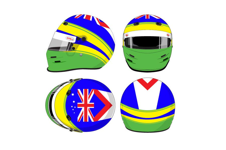 Bài tham dự cuộc thi #49 cho Racing Helmet design for 9 year old boy.