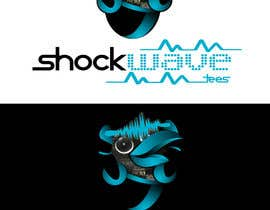 nº 137 pour Logo Design for T-Shirt Company.  ShockWave Tees par xcerlow