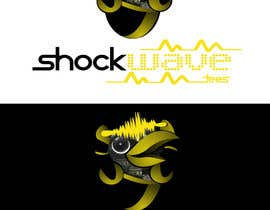nº 136 pour Logo Design for T-Shirt Company.  ShockWave Tees par xcerlow
