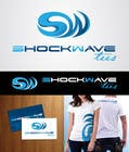 Contest Entry #147 for Logo Design for T-Shirt Company.  ShockWave Tees